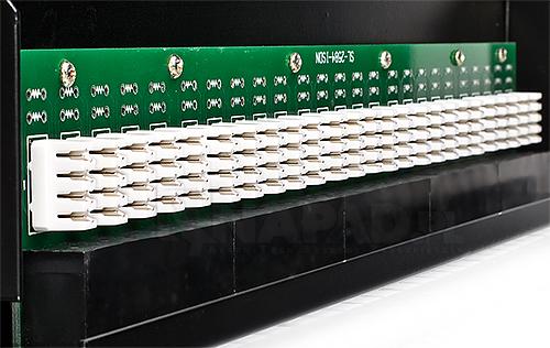 Patch panel 25-port UTP3E 19'' złącza krone