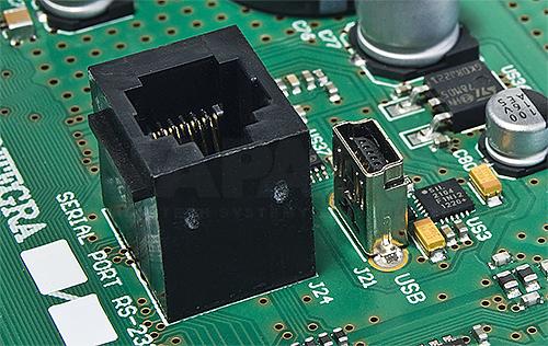 Płyta główna centrali alarmowej INTEGRA 256 Plus