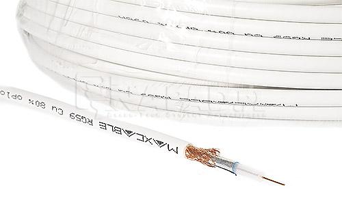 Przewód koncentryczny RG59 Cu 80%