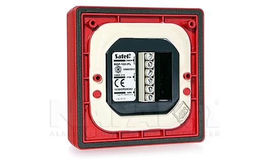 Konwencjonalny ręczny ostrzegacz pożarowy zewnętrzny ROP-101