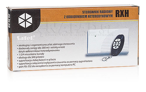 Sterownik radiowy RXH-4K