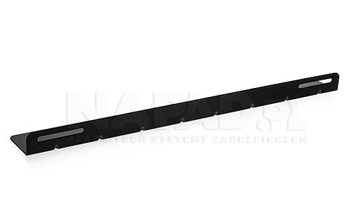 Szyna montażowa do szaf Rack 19'' 800mm (55cm)