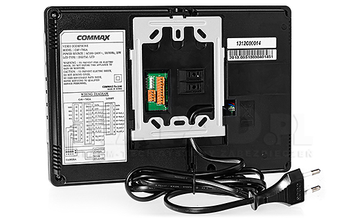 Monitor do wideodomofonu Gate View CAV-70GA COMMAX