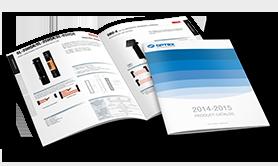 Katalog produktów firmy OPTEX