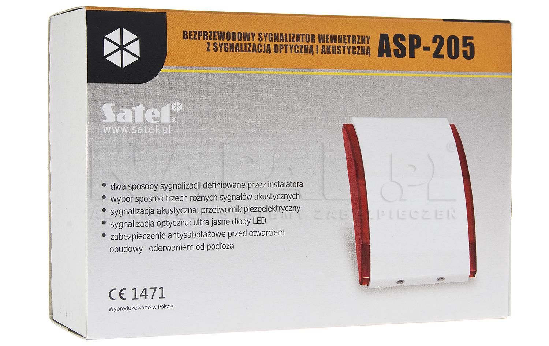 ABAX bezprzewodowy sygnalizator ASP205R - SATEL