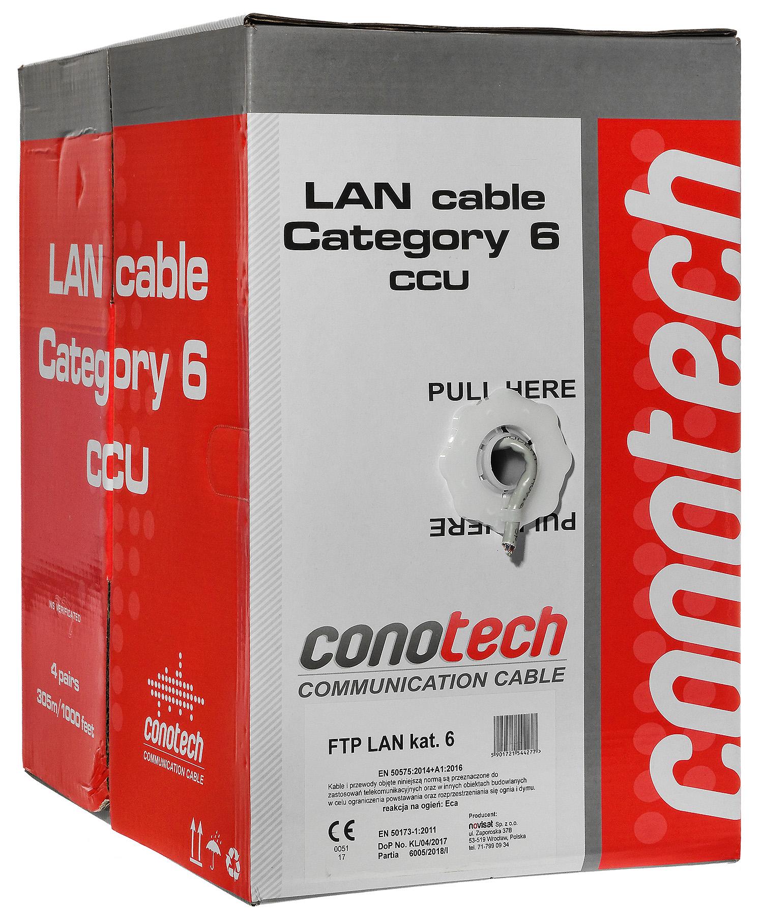 Przewody sieciowe Conotech