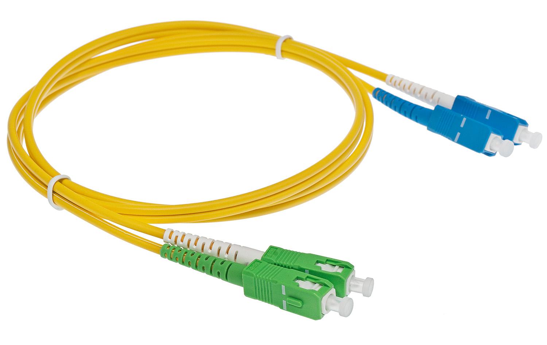 Patchcord jednomodowy SC /UPC - SC /APC