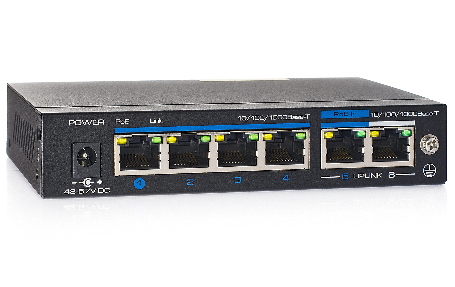 Gigabitowy switch PoE