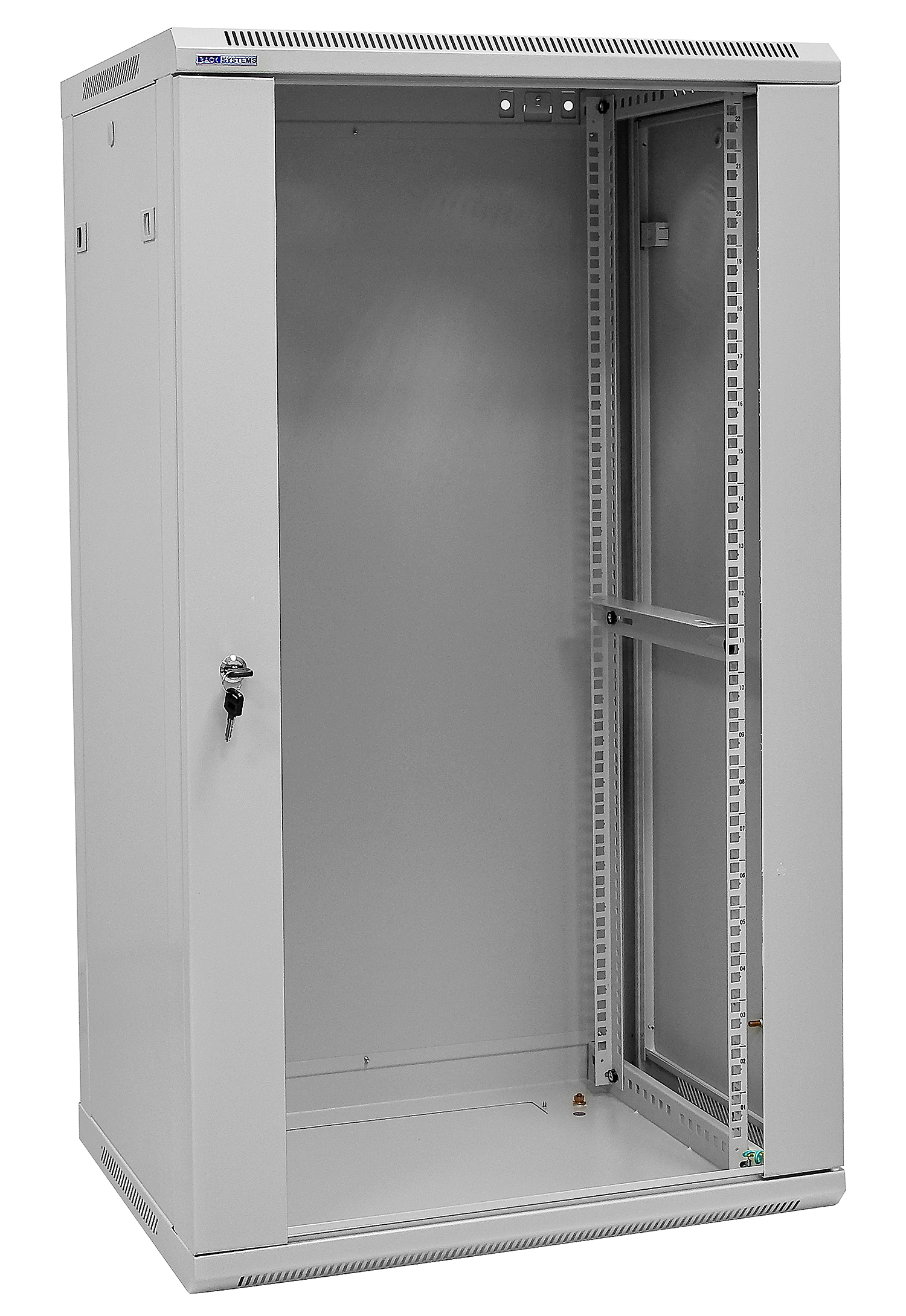 Biała szafa rack W6522W Rack Systems