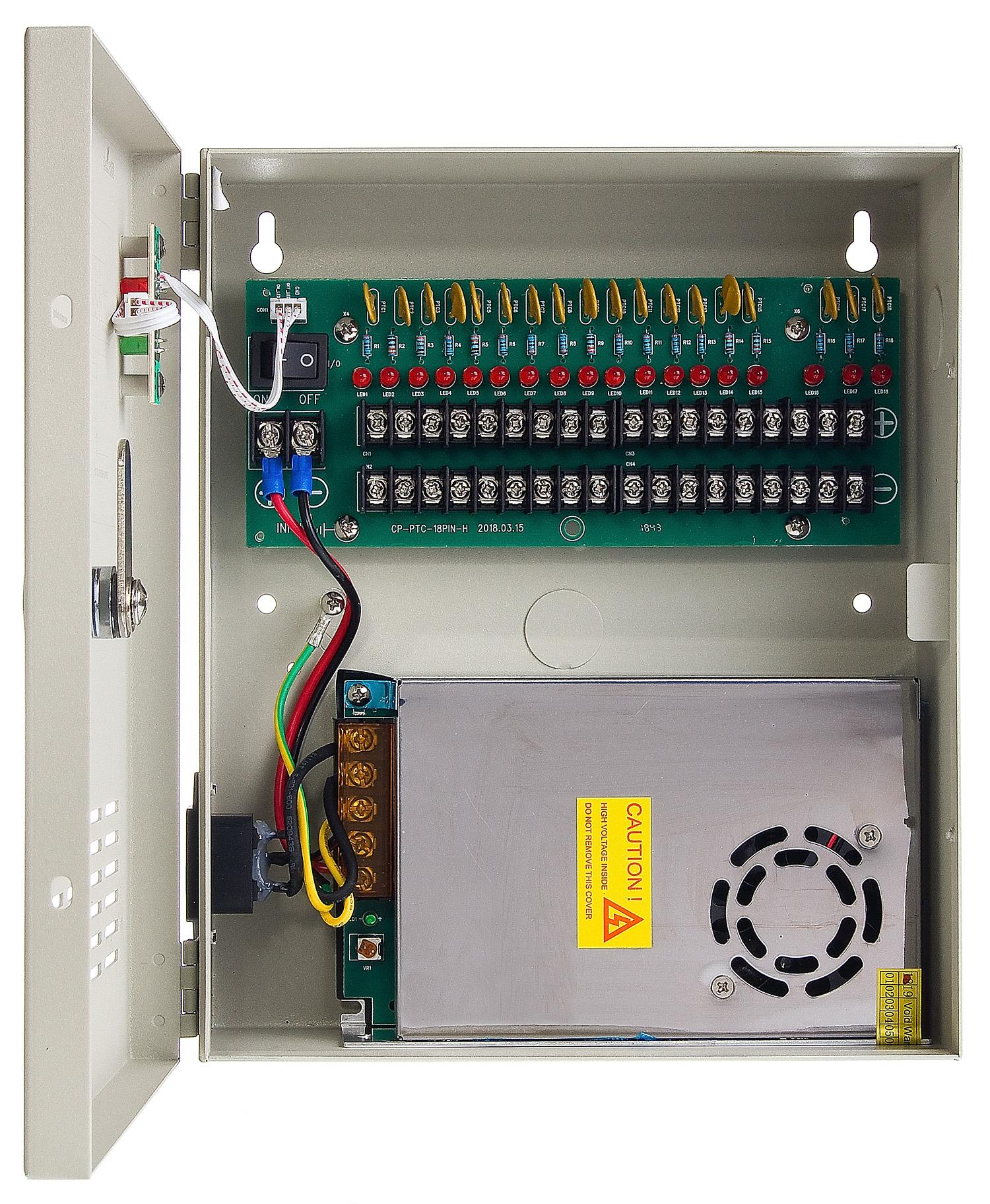 Zasilacz stabilizowany Eagle Power ZS10CH18