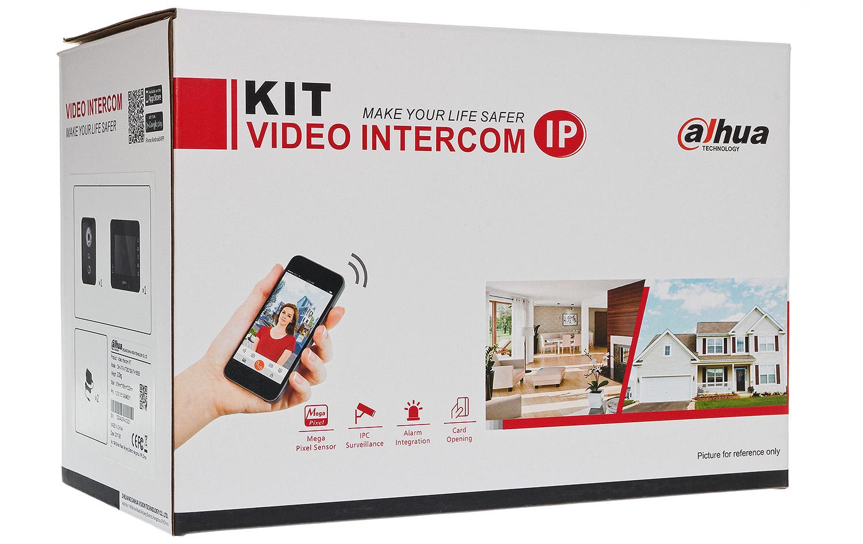 Zestaw wideo domofonu IP Dahua VTK VTO6210B + VTH 1560B