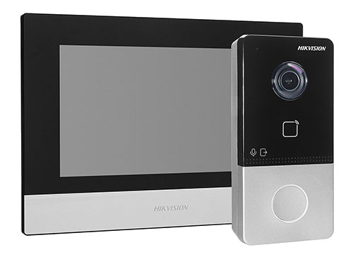 Zestaw wideo domofonu IP Hikvision