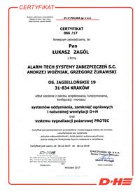 Certyfikat D+H