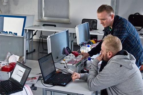 Zajęcia praktyczne Satel-CSP