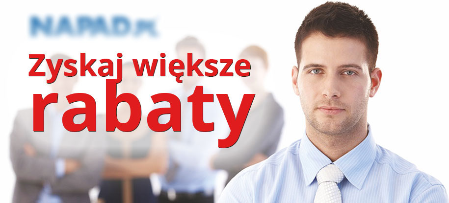 Rabaty w NAPAD.PL dla partnerów B2B