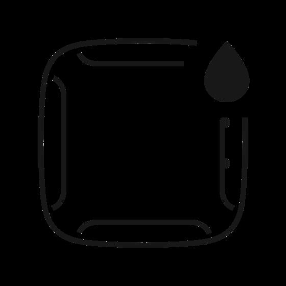 Włącza alarm, jak tylko woda dostanie się do jednej z czterech par styków.