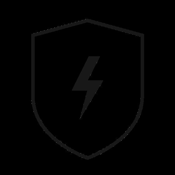 Chroni urządzenia przed przeciążeniem i zwarciem.