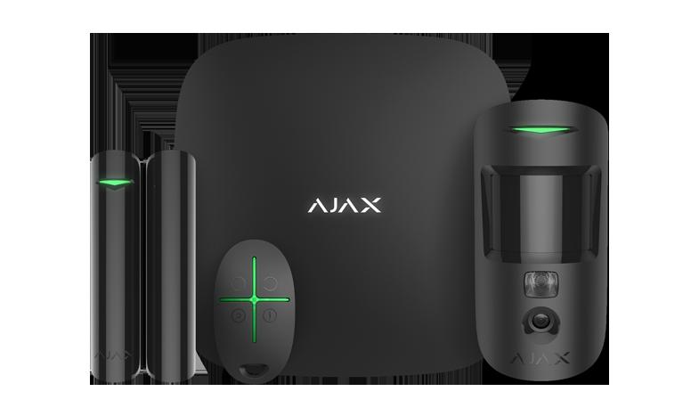 Bezprzewodowy zestaw alarmowy AJAX.