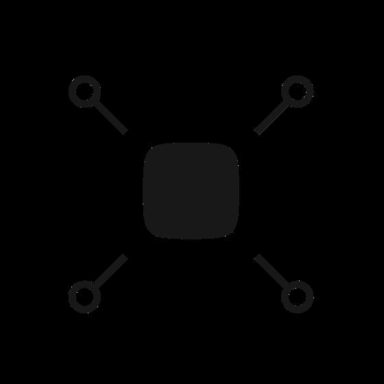 Zamienia czujniki innych producentów w kompletne urządzenia Ajax.