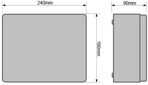 Wymiary IP-5-11-L2.