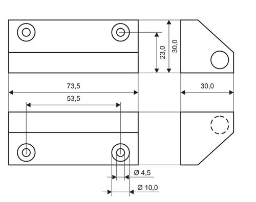 MC240-S78 (T) - wymiary czujnika w mm.