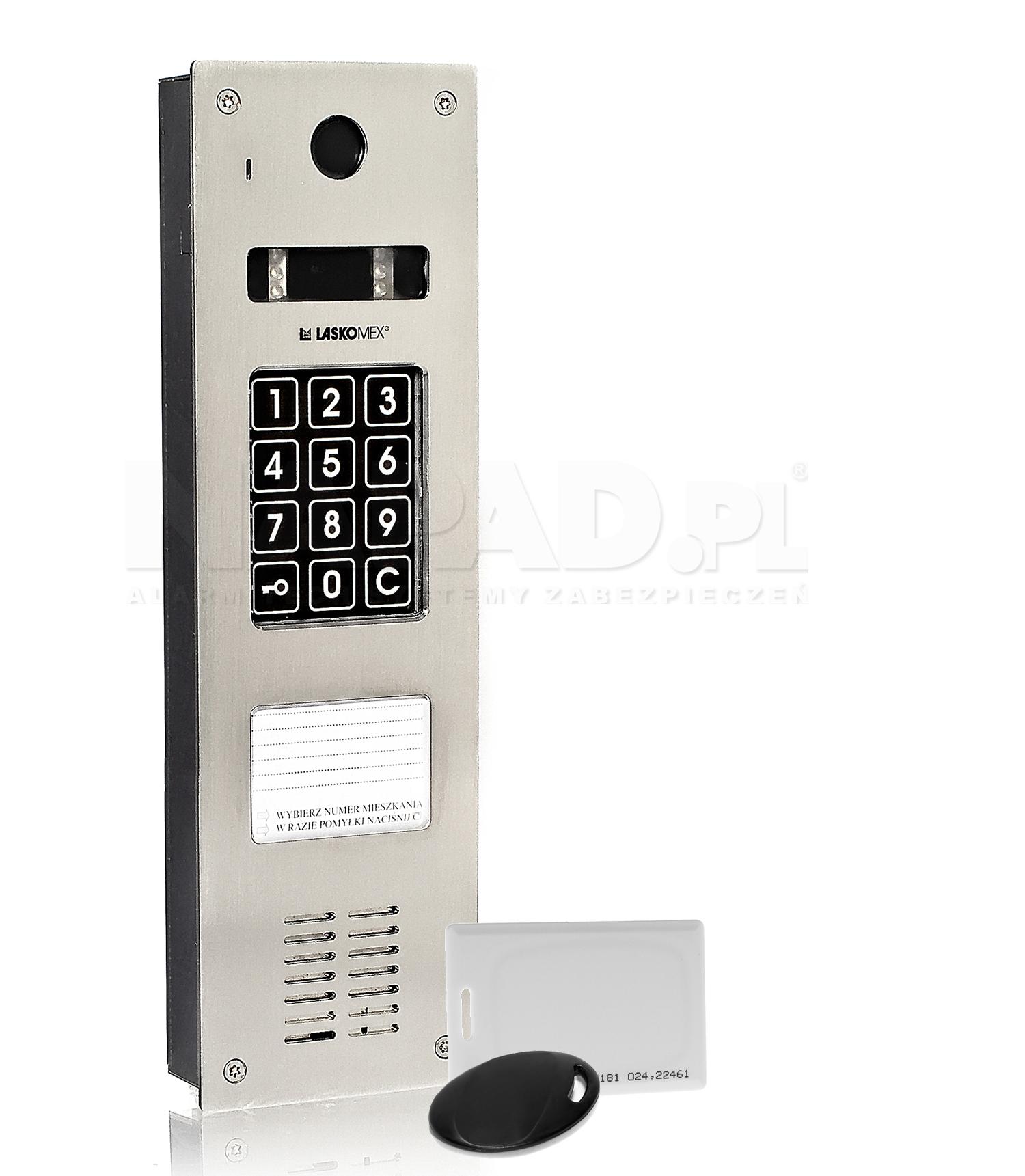 CP2533NR - Panel z wbudowanym czytnikiem RFID.