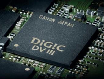 Procesor DIGIC DV III zastosowany w kamerze Canon.