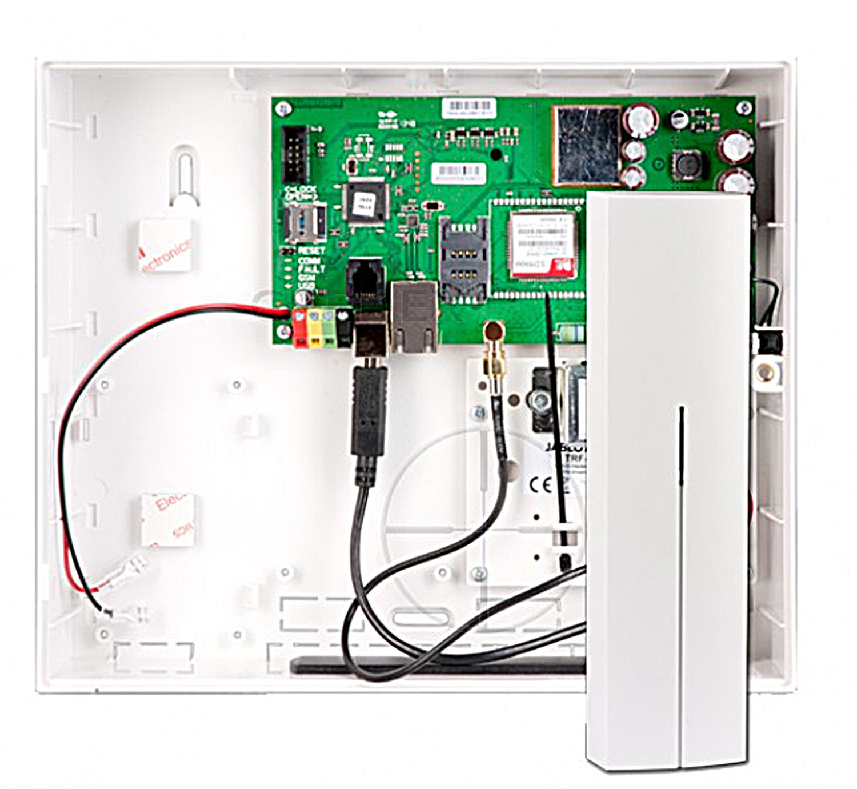 JA101KR LAN/JA101KR LAN 3G - centrala alarmowa z modułem.