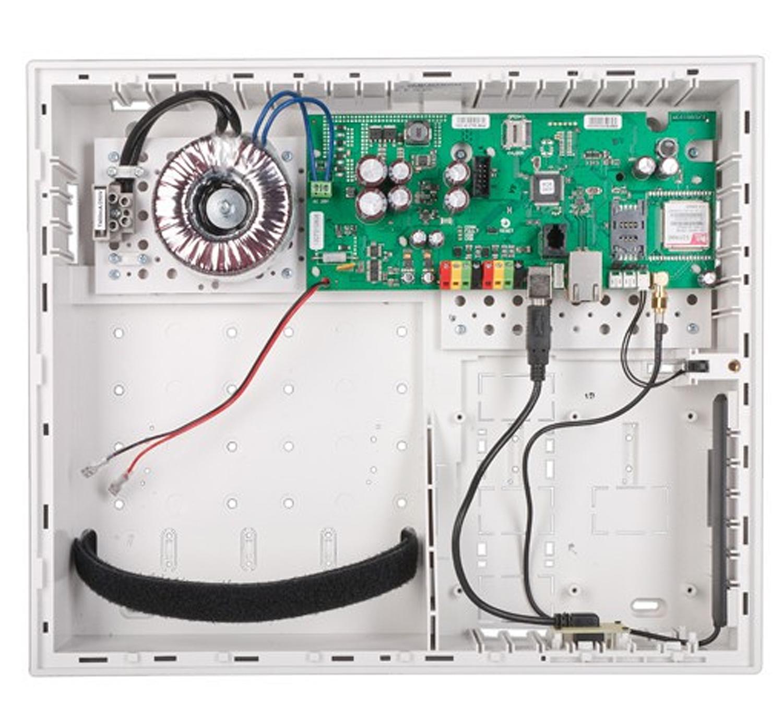 JA106K LAN/JA106K LAN 3G - centrala alarmowa z modułem LAN.