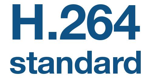 Standard kompresji H.264.