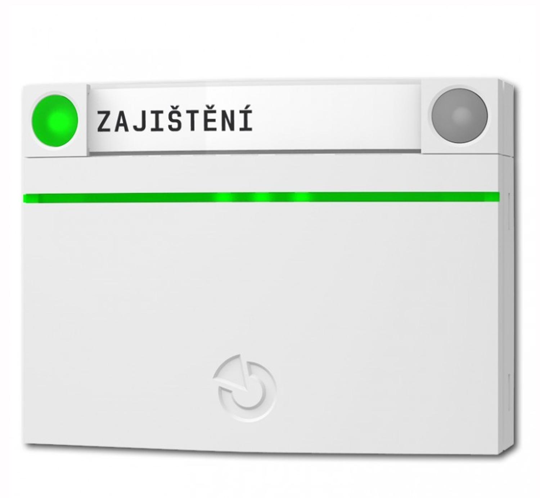 JA112E - Czytnik przewodowy RFiD z przyciskiem JA192E