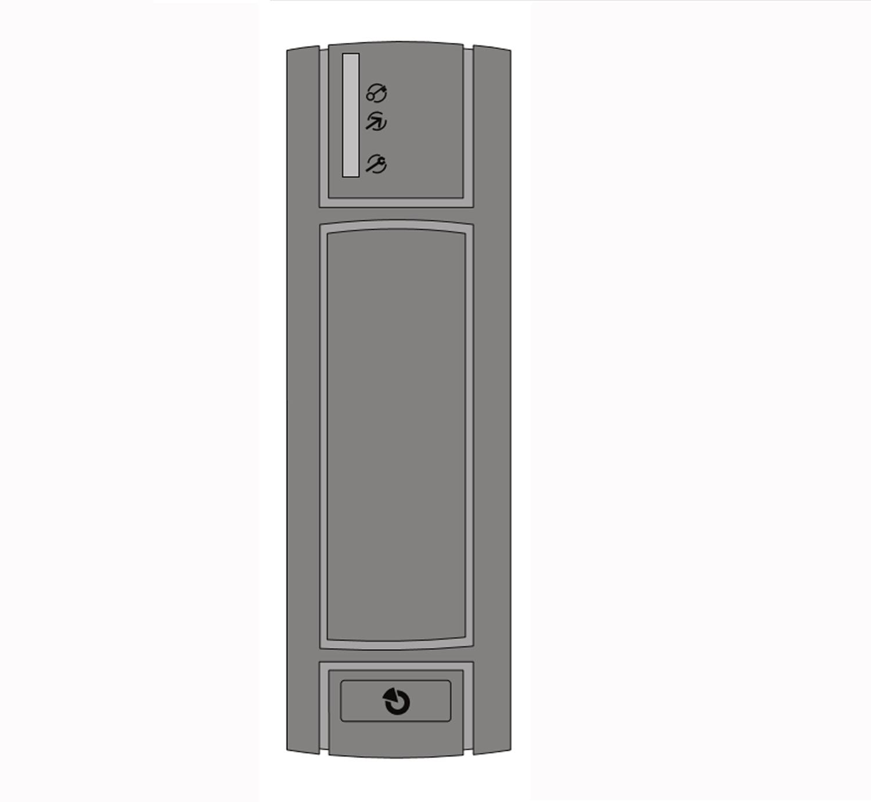 JA122E - Czytnik przewodowy RFiD zewnętrzny