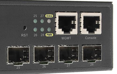 DCN S5750E-28X-SI - Gigabitowy przełącznik dostępowy warstwy L3