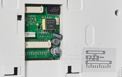VTH5221DW / VTH5221D - Integracja z systemem alarmowym.