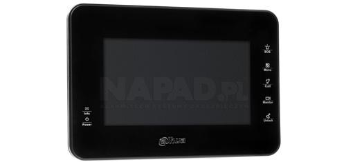 """VTH1560B - 7"""" ekran pojemnościowy w rozdzielczości 800x480px."""
