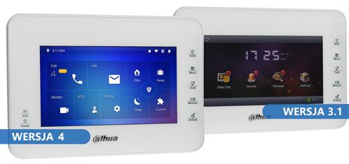 VTH1560BW - Intuicyjny interfejs graficzny.