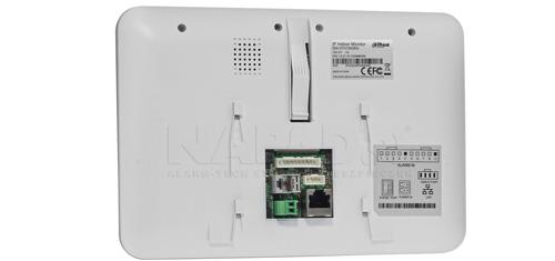VTH1560BW - Złącza połączeniowe monitora IP Dahua.