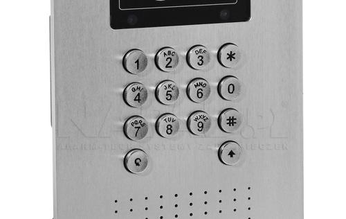 VTO1220A - Klawiatura numeryczna w panelu bramowym Dahua.
