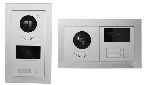 Wariant instalacyjny systemu na 2 moduły.