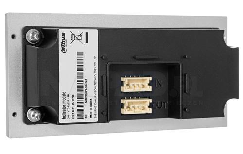 Tył modułu do systemu wideodomofonowego Dahua.