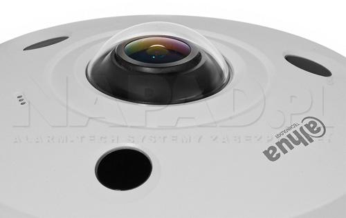 Panoramiczny obiektyw fisheye w kamerze CVI.