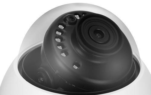 DH-HAC-HDBW2501EP-0280B - Oświetlacz podczerwieni w kamerze Analog HD.