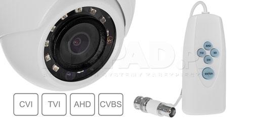 DH-HAC-HDW1220MP - Wiele standardów wizji.