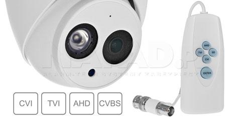DH-HAC-HDW1500EMP-A-0360B - Zmiana systemu pracy poprzez kontroler PFM820.