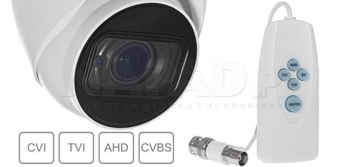 DH-HAC-HDW1200T-Z-2712 - Zmiana systemu pracy poprzez kontroler PFM820.