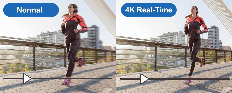 Wyświetlanie 4K Real-Time.