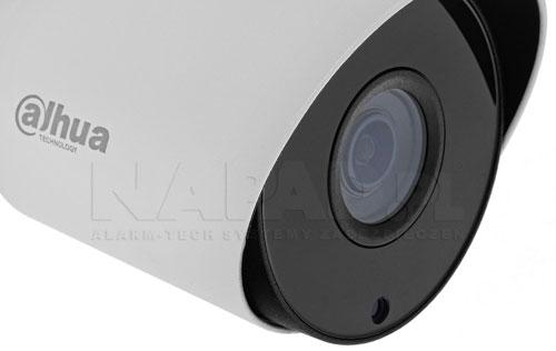 DH-HAC-HFW1200TP-0280B / DH-HAC-HFW1200TP-0280B-BLACK - Wbudowany oświetlacz w kamerze 4w1.