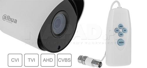 DH-HAC-HFW1200TP-0280B / DH-HAC-HFW1200TP-0280B-BLACK - Wiele standardów wizji