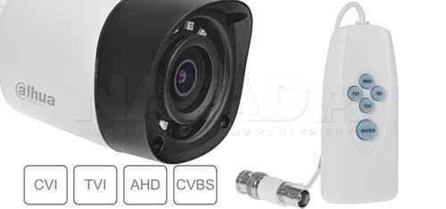 DH-HAC-HFW1220RMP - Wiele standardów wizji.