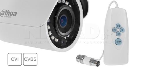 DH-HAC-HFW1400S-0280B / DH-HAC-HFW1400S-POC-0280B - Praca kamery w różnych systemach wizji.